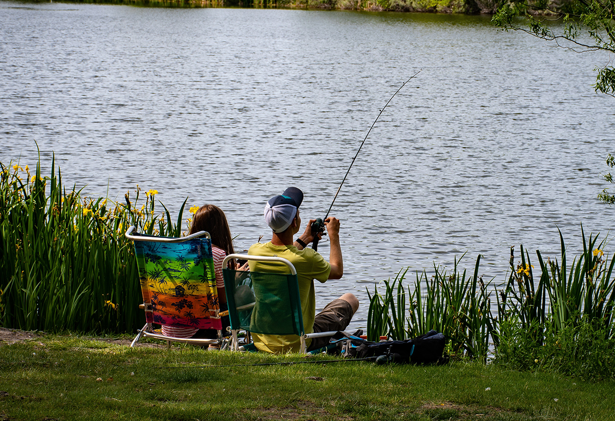 Fishing in the Park