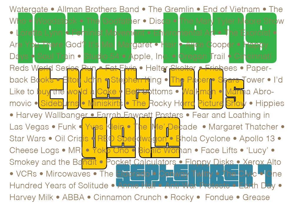 That 70s Gala September 1