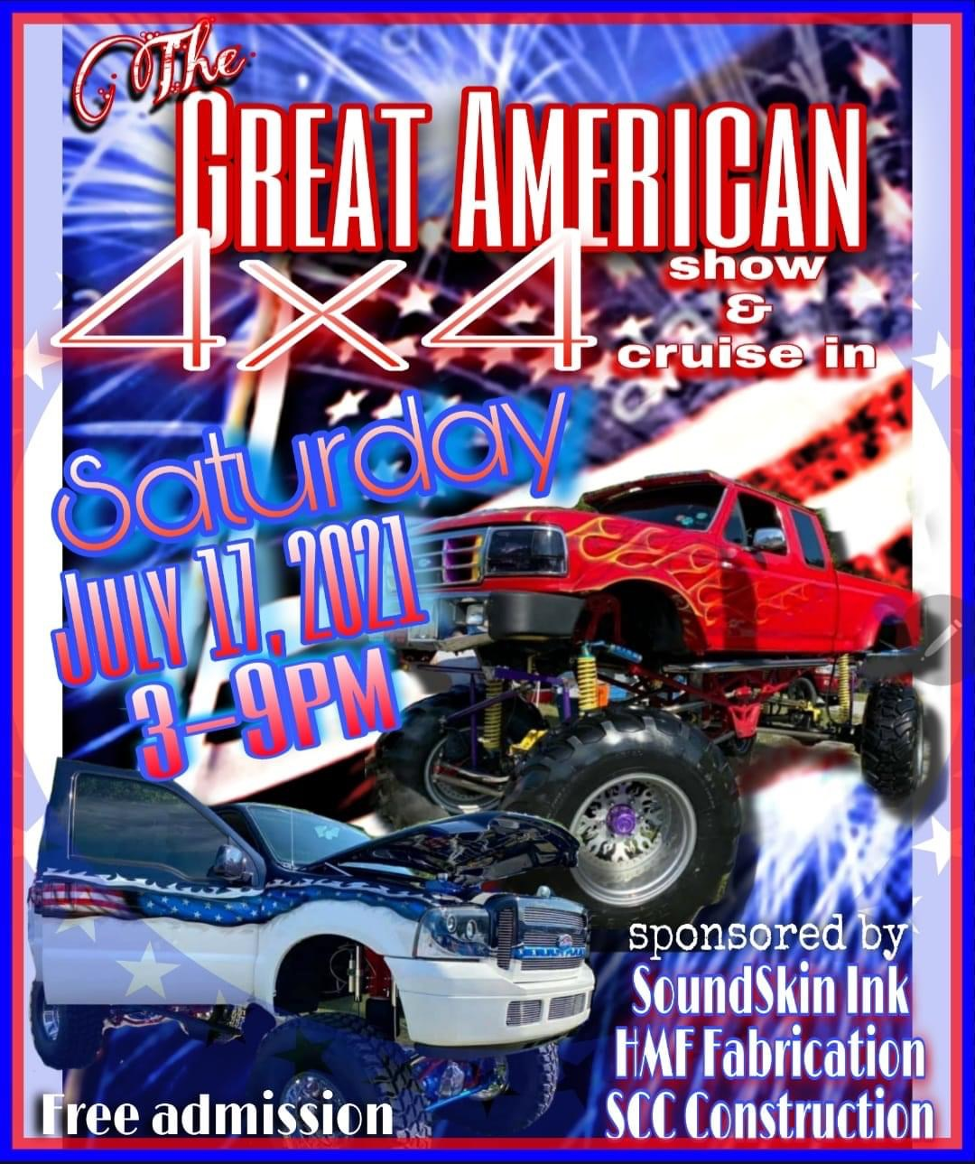 The Great American 4x4 Show & Cruise In