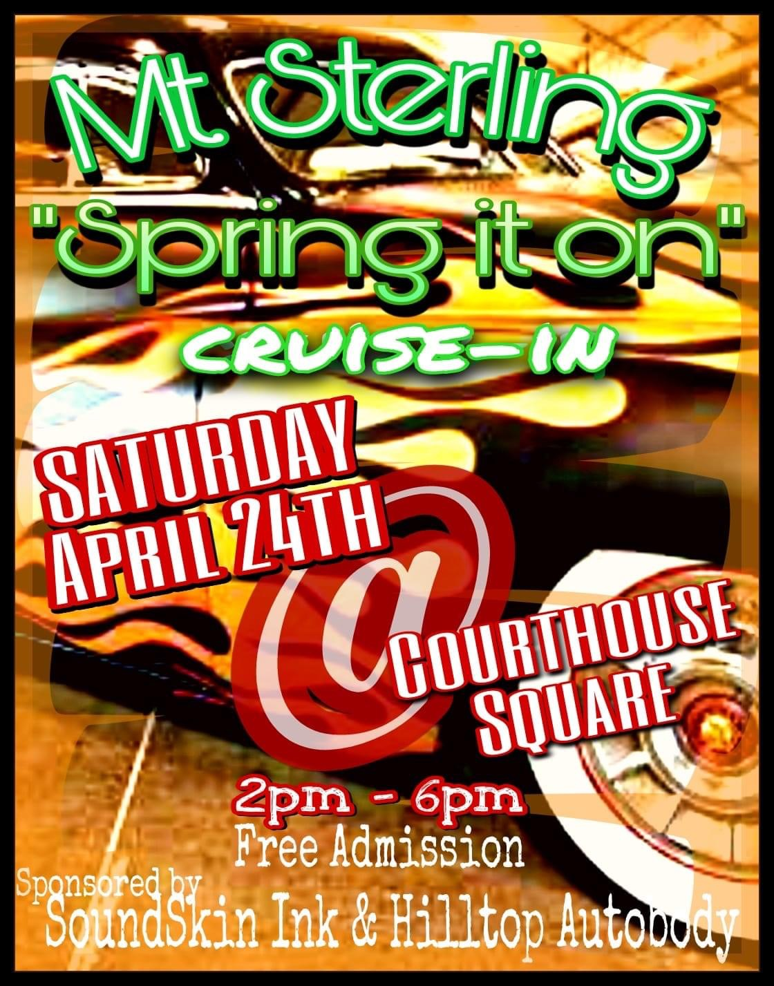 April Cruise in