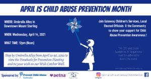 Child Abuse Prevention Facebook Event Cover
